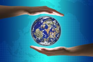 2013-06-10 Hands with globe