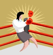 2014-08-15 Woman with boxing gloves