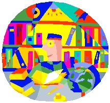 2014-08-22 College Kid in Library