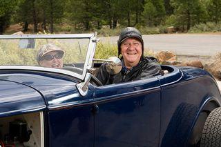 2013-06-21 older couple in antique car