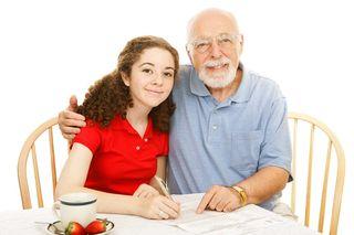 2015-08-14 Grandpa and granddaughter