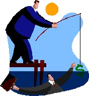 2013-08-30 - man with fishing dollar bill